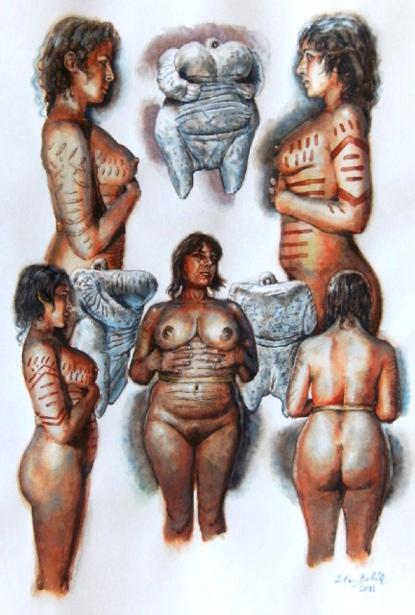 Aurignacian Culture - Venus Of Hohle Fels