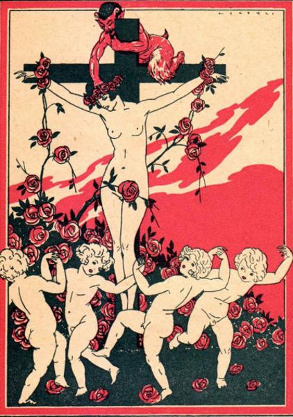 La femme crucifiée