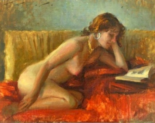 Reading Nude