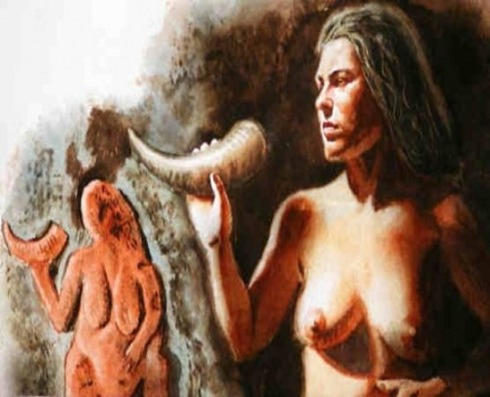 The Culture of Gravettian - The Lady With A Horn
