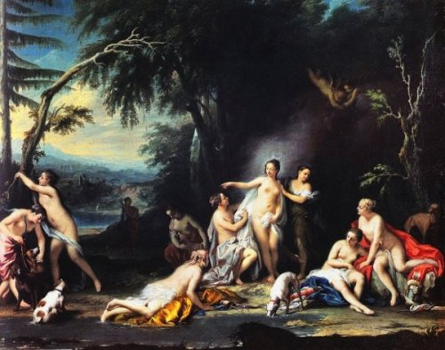 Diana Bathing With Her Nymphs