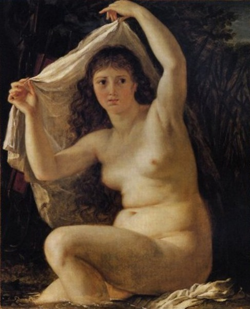 Diana In The Bath