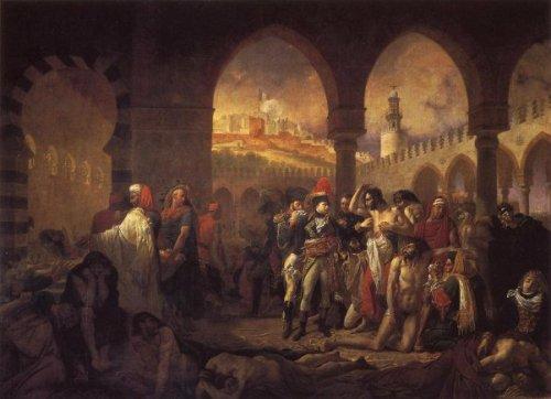 Napoleon Visiting The Plague-Stricken At Jaffa