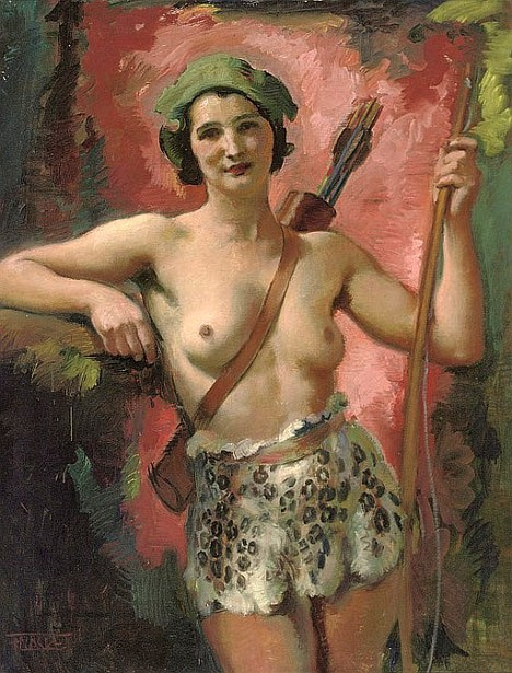 An Amazonian Huntress