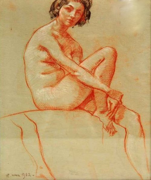 Drawing Of Nude