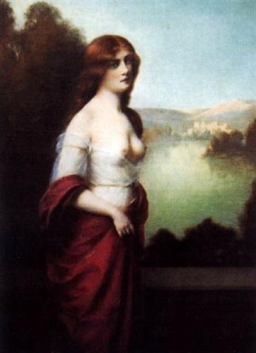 Jeune femme rousse en Avignon