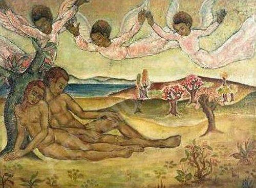 Adam et Eve au Paradis
