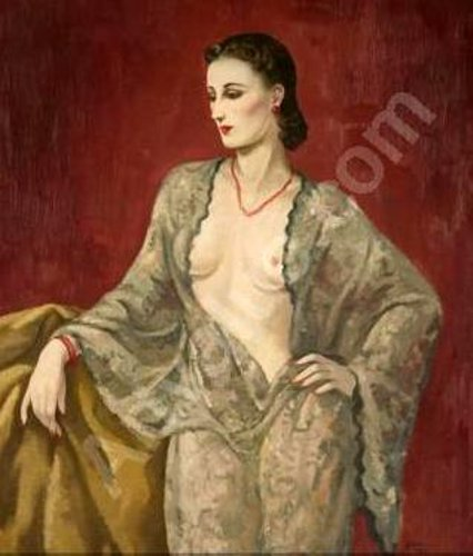Lady With Bare Breasts