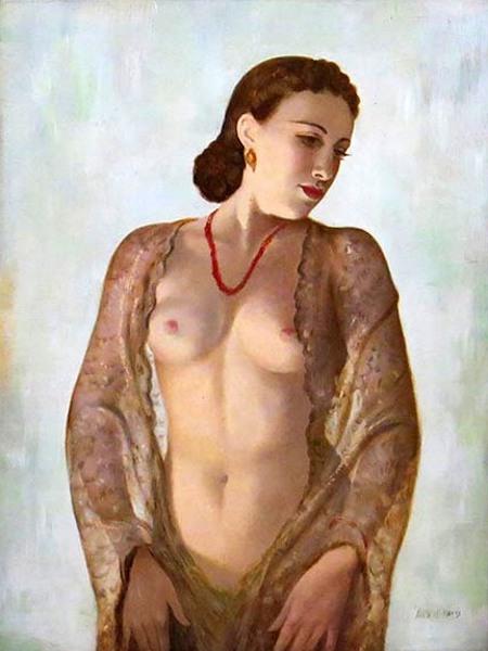 Parisian Nude Girl