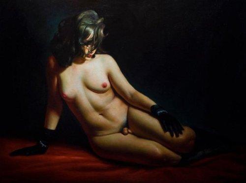 Reclining Hermaphrodite