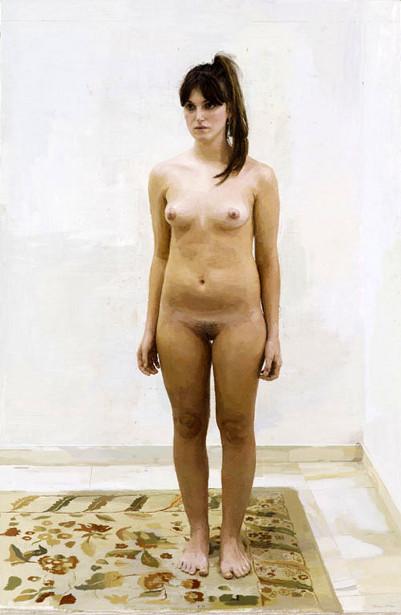 Rocio - Desnudo sobre alfombra