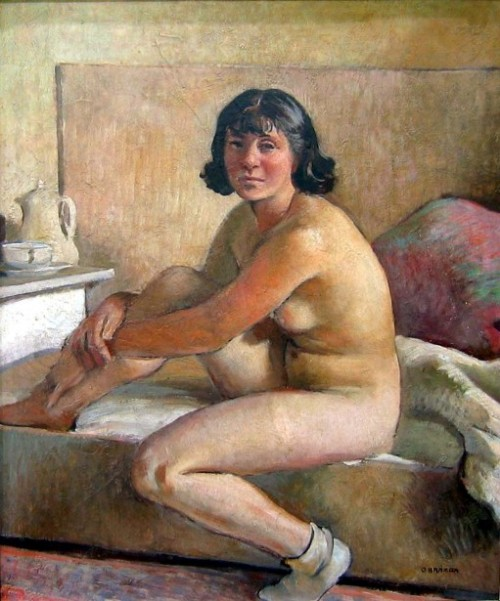 Sitting Girl Nude