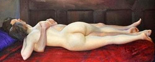 Nude Poets Embrace