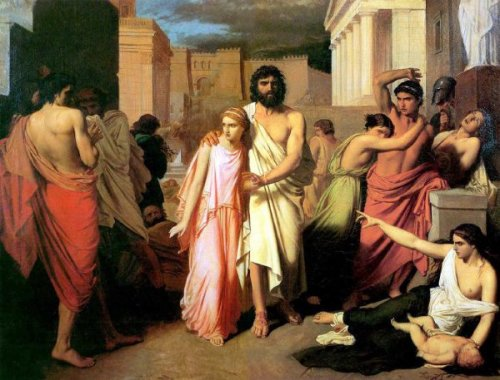Oedipus And Antigone     The Plague Of ThebesOedipus And Antigone