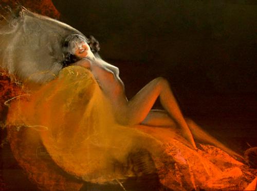 The Veiled Nude