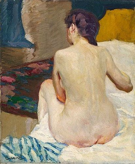 Female Nude Seen From Behind
