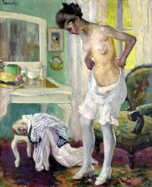Girl In The Dressing Room