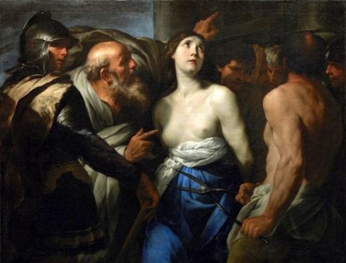 Martyrdom Of St. Agathe