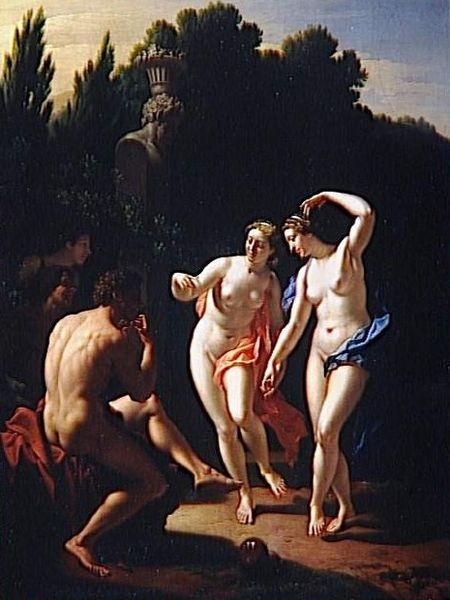 The Dancing Nymphs (with Pieter van der Werff)