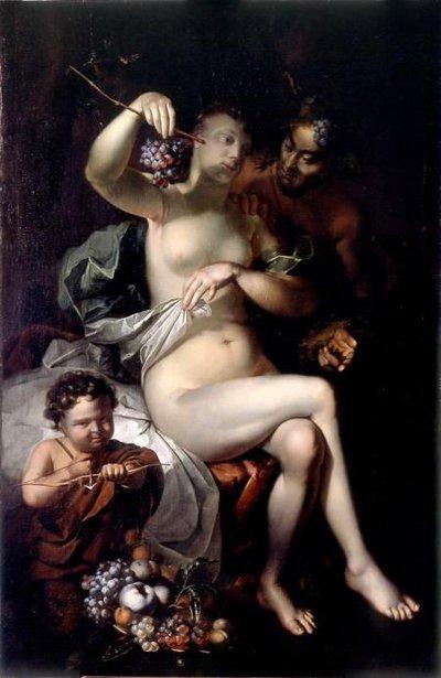 Venus, Jupiter And Amor