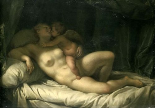 Venus Kissed By Amor