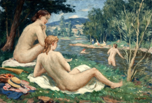 Bathing Girls
