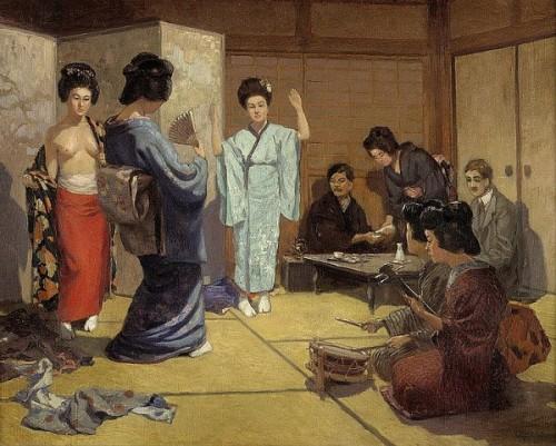 Geishas In Yoshiwara