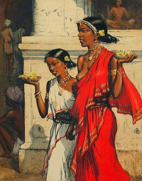 Indian Girls, Ceylon