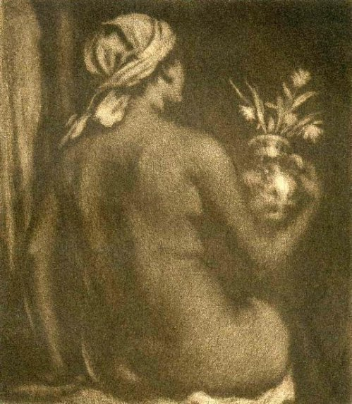 Nude Woman With A Vase