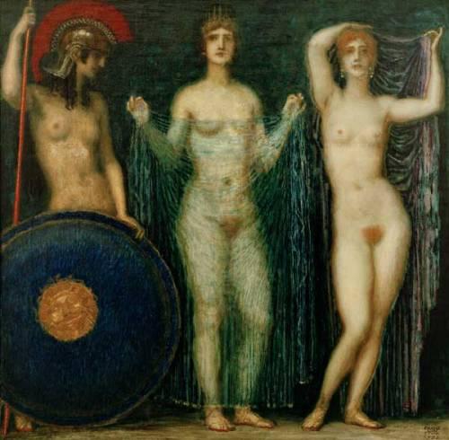 Athena, Hera And Aphrodite