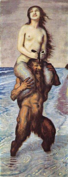 Faun And Mermaid
