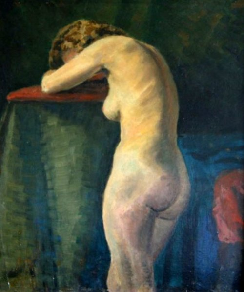 Female Model In The Nude