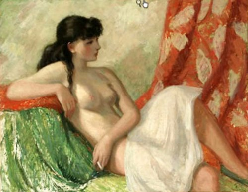 Female Nude Resting