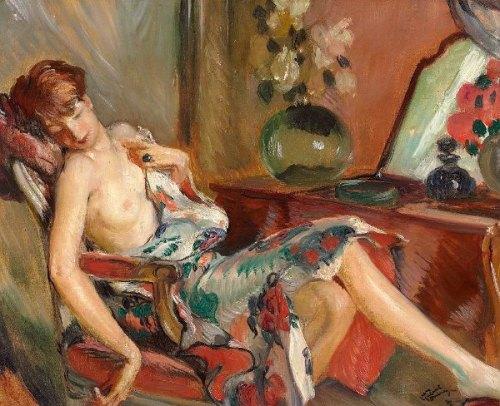 Femme Assoupie