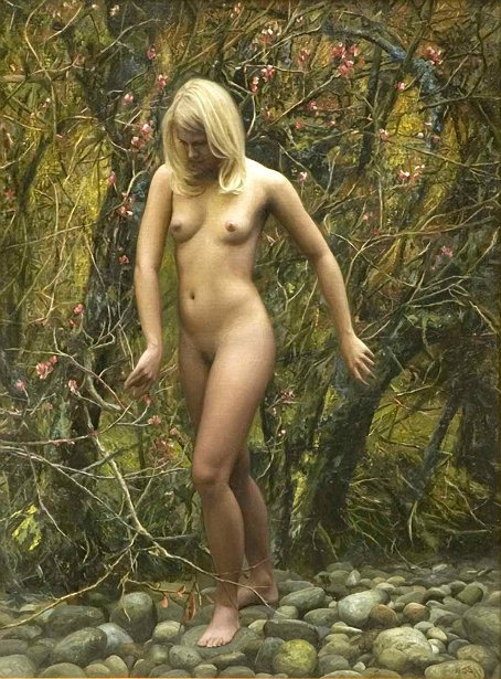 Nude In Thicket