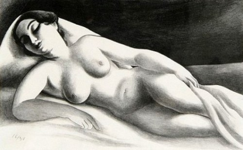 Reclining Nude - Asleep