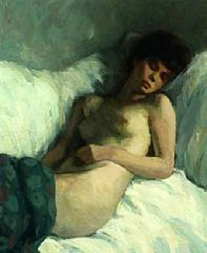 Sleeping Naked Girl