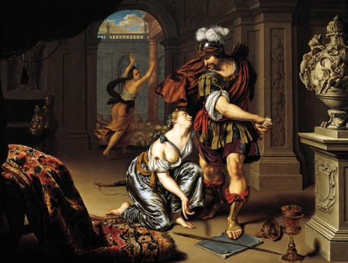 Ulysses Threatening Circe