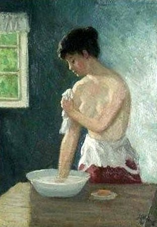 Washing Girl
