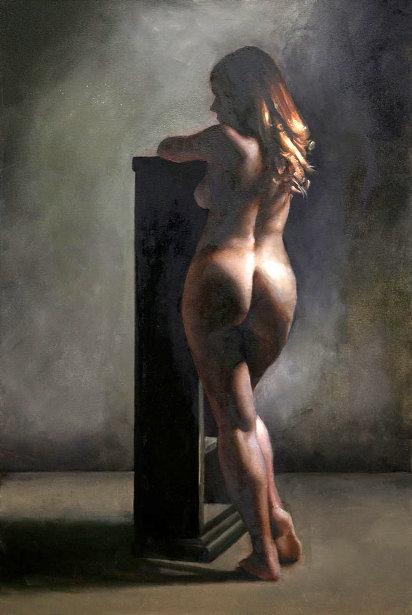 Academic Nude - Kathy Standing