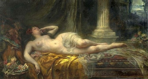 An Odalisque - Reclining Nude