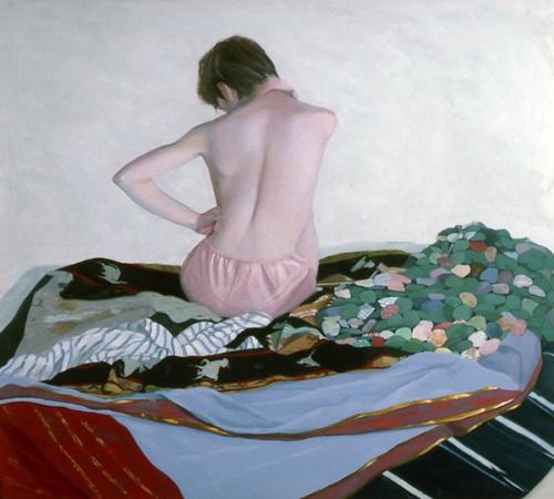 Back Nude Of Gloria