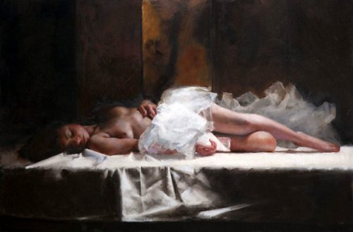 Sleeping Dancer - Amina In Tulle