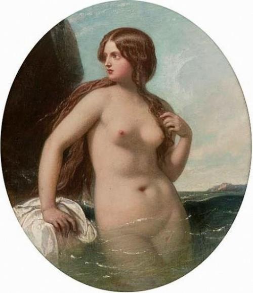 A Nereid - A Sea Nymph