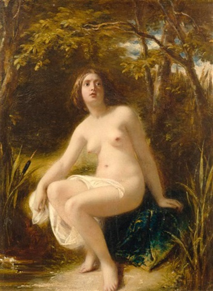 Bathing Nymph