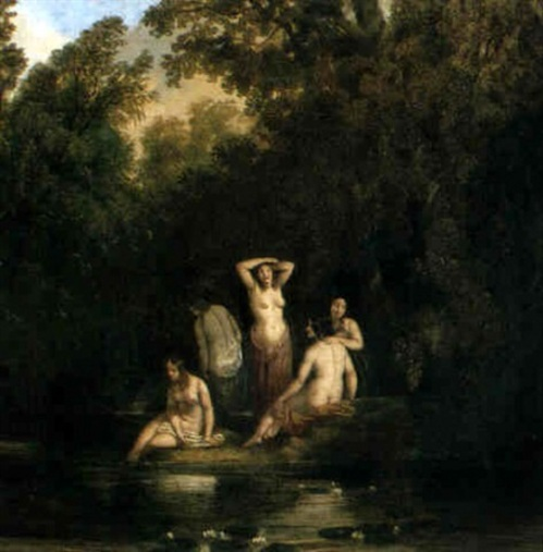 Bathing Nymphs