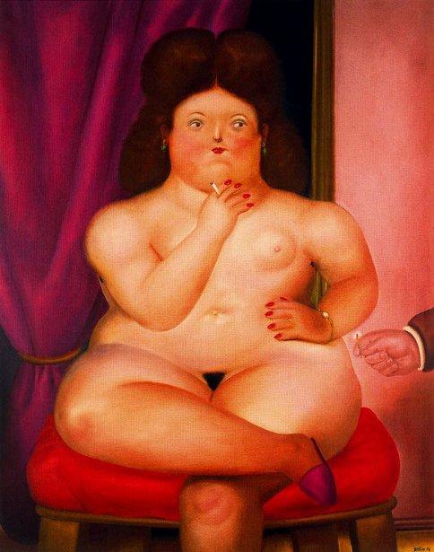Mujer sentada