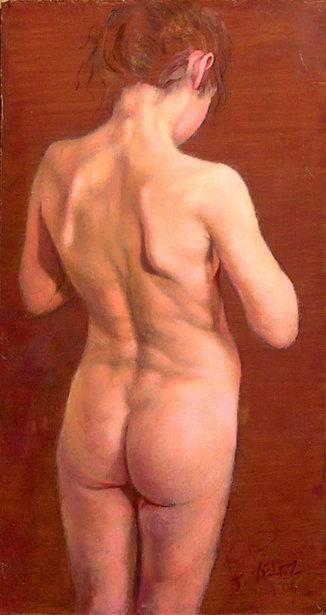 Nude Back Study