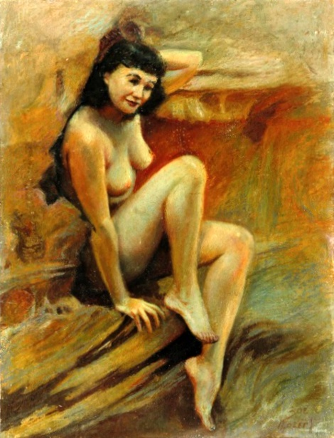 Nude Self-Portrait