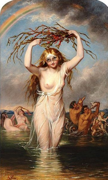 Nymphs And Mermen Playing